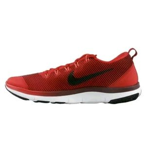Nike Zoom Free Versatility Red Shoes 833258 606